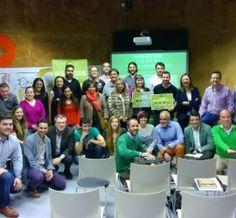 Foto de grupo en el Greenweekend Oviedo