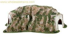 Ready Landforms Tunnel, Curved, Woodland Scenics WDS1311