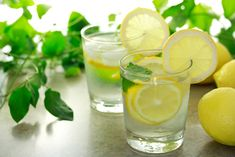 Lemon water for your gout