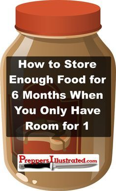 If you are an apartment prepper or you're short on storage space but you want to have food storage on hand, you should definitely read this article: http://preppersillustrated.com/1984/store-food-for-6-months-only-have-room-for-1/ #FoodStorage, #Prepping