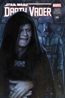 Darth Vader (2015) #6 The Emperor's machinations revealed! Everything changes for Vader! The tale of Vader's transformation from A New Hope to The Empire Strikes Back continues! Star Wars © Lucasfilm Ltd. & TM. All rights reserved. Used under authorization. Text and illustrations for Star Wars are © 2015 Lucasfilm Ltd.