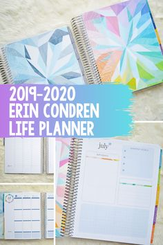Erin Condren Life Planner – Sarah White A look at the Erin Condren Life Planner – Flip through and inside look at the new neutral hourly and colorful vertical planners. Hourly Planner, Study Planner, Planner Tips, Planner Layout, Happy Planner, Planner Journal, Journal Ideas, Best Planners, Day Planners