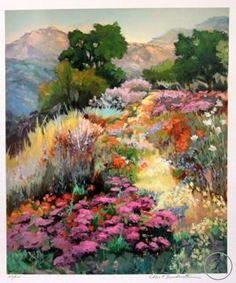Mountain Path by Ellie Freudenstein 36 x 30