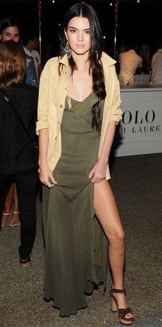 Kendall Jenner's Best Fashion Week Looks: September 8th in head-to-toe Ralph Lauren