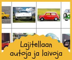 Lajittelu ja luokittelu Vehicles, Car, Automobile, Rolling Stock, Vehicle, Cars, Autos, Tools
