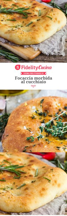Soft focaccia with spoon / food # .- Soft focaccia with spoon / food - Diced Pork Recipes, Pulled Pork Recipes, Burrata Pizza, Focaccia Pizza, Finger Food Appetizers, Finger Foods, Appetizer Recipes, Pizza Recipes, Cooking Recipes