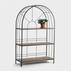 Terraces shelf steel, wide 100x40x160 €195