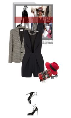"""""""Tuesdays - 08.09.15"""" by matilda66 ❤ liked on Polyvore featuring Yves Saint Laurent, Maison Michel, Finders Keepers and MICHAEL Michael Kors"""