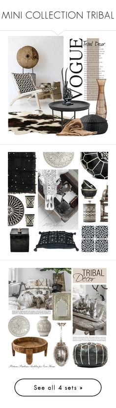 """MINI COLLECTION TRIBAL"" by tiziana-melera ❤ liked on Polyvore featuring interior, interiors, interior design, home, home decor, interior decorating, Pier 1 Imports, DAY Birger et Mikkelsen, Oris and Yerra"