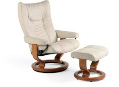 Stressless® Wing Leather Recliner