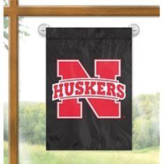 Nebraska Cornhuskers Window Flag