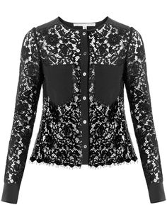 Beautiful black floral lace and silk pockets make our Lotus Lace Combo Blouse a true statement maker. Enjoy free ground shipping on all US orders.