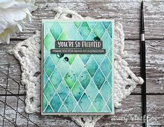 You're So Talented - Amy Sheffer - Altenew Crafty Friends + Pattern Play-Diamond