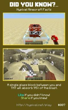 Minecraft did you know lol I knew