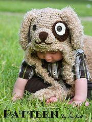 Fuzzy puppy hat, because you know a love of animals starts in childhood.