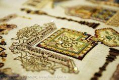 "Дизайны Мартины Розенберг-Шетелайн (Chatelaine): ""Венецианский сад"" фрагмент"