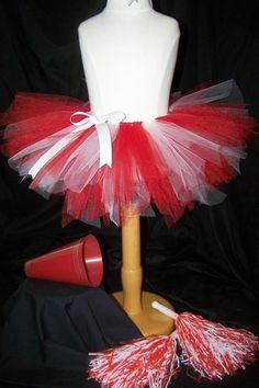 Cheerleader Tutu Set