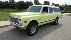 1972 Chevrolet Suburban K10