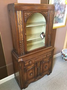 This Is The Closest Image I Can Find For My Grandma S China Cabinet Result Small Vintage Hutch