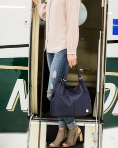 Let Bottega Be a Part of Your Next Adventure! Photo: @tracymoorephoto      #MyBottega #shopsatshilohcrossing #travel #ootd #ootn #pack #planes #jets #vacation #worktrips #fashion #friends #photoshoot #hapoy #happiness #worlds #sightseeing #seetheworld #chic #classic #spring #tote #purse #shoes #heels #Thursday