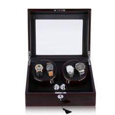 Aliexpress.com : Buy 2015 Luxury Brand Watch Winder For Brands Of Automatic Watches 4+6 Storage Display Case Box Rotation A Perfect Gift from Reliable watch winder china suppliers on Original Brand Watch Mall  | Alibaba Group