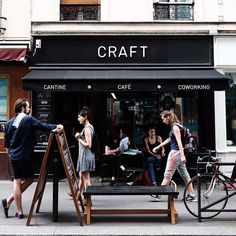 @des_coffee sent this and I just HAD to share it. Its a perfect day-in-the-life photo. As a photographer I love seeing photos that feel if that makes sense. This one has all the feels. ___________________________________ This is @cafe_craft Paris France ##csotwparis #csotwfrance Credit @des_coffee @coffeeshopsoftheworld by @KolobCo Tag someone you love.