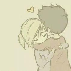 Imagem de love, hug, and couple