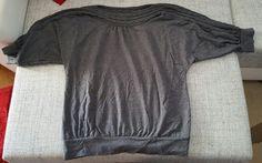 Graues Langarmshirt mit Strickkragen Zara, T Shirts For Women, Mens Tops, Fashion, Women's T Shirts, Reach In Closet, Fashion Women, Breien, Kleding