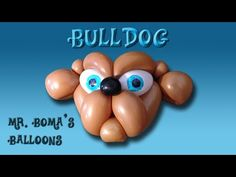 Bull Dog or Pug Balloon Animal Tutorial - Lion Variation (Balloon Twisting and Modeling #21.1) - YouTube