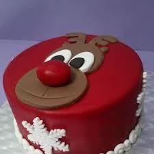 Christmas Cake Designs, Christmas Cake Decorations, Christmas Cupcakes, Holiday Cakes, Christmas Desserts, Snowman Cake, Gateaux Cake, Different Cakes, Theme Noel