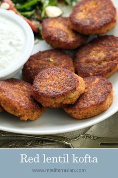 from { { FeedTitle} }{ { EntryUrl} } Red Lentil Recipes, Indian Food Recipes, Whole Food Recipes, Kofta Recipe Vegetarian, Vegetarian Recipes, Kufta Recipe, Lentil Patty, Cooking Red Lentils, Lentil Meatballs