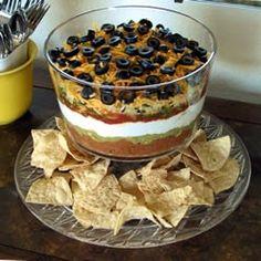 What's Cookin?: Seven Layer Bean Dip