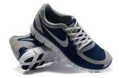 Nike Free 5.0 V4 Men's Shoes Navy/Wolf Grey