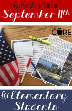 Printable articles for 4th, 5th, and 6th grades. Includes integrated reading, writing, social studies, and art lesson plans about September 11th. 9/11