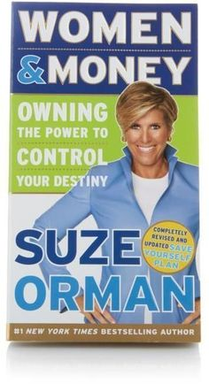 """""""Women & Money: Owning the Power to Control Your Destiny"""" Book by Suze Orman @ad"""