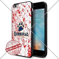 WADE CASE Quinnipiac Bobcats Logo NCAA Cool Apple iPhone6 6S Case #1476 Black Smartphone Case Cover Collector TPU Rubber [Blood] WADE CASE http://www.amazon.com/dp/B017J7IQIO/ref=cm_sw_r_pi_dp_5lGvwb1SCYS8S