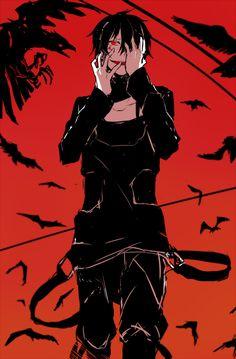 Image about boy in Mekakucity Actors/Kagerou Project by ダリヨカ Manga Anime, Manga Boy, Anime Art, Kagerou Project, Yandere, Cool Anime Guys, Anime Boys, Vampire Boy, Horror