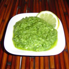 Pesto Sauce- just made this myself and it was awesome!!
