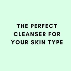 Cleansers for every skin type #kbeauty #koreanbeauty #cleansers