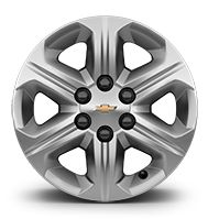 """17"""" steel wheels"""