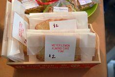 bake sale packaging ideas   Bake sale idea. Using printable label to identify ...   Bake sale ide ...