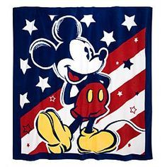 Mickey  Red white & blue