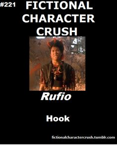 been in love with Rufio for like ten years. Dante Bascos also played Zuko who is like my anime crush and he dances in Take the Lead and he is BEAST at it sooooooooooooo ya I'm in love <3 <3 <3 <3 <3 <3 <3