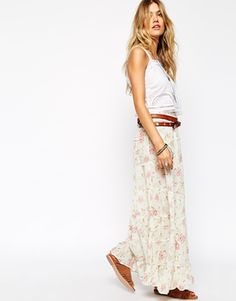 Enlarge Denim & Supply By Ralph Lauren Floral Maxi Skirt