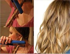 """"""" A great and easy way to get wavy hair! Cute Simple Hairstyles, Twist Hairstyles, Pretty Hairstyles, Curly Hair Styles, Natural Hair Styles, Pelo Natural, Natural Waves, Hair Arrange, My Hairstyle"""