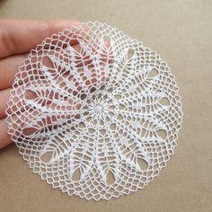 Dollhouse miniature crochet tablecloth 10 cm by MiniGio