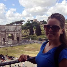 View from The Colosseum in Rome, Italy   Sara Russell Interiors