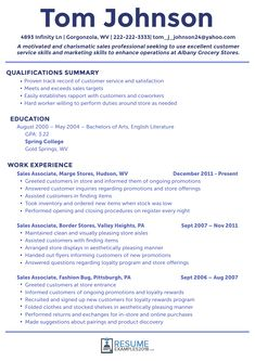 Career Summary Examples For Resume Live Career  Pretend To Be Professional ✨  Pinterest  Template