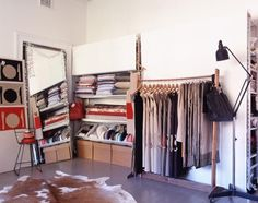 all about the wardrobe room Open Wardrobe, Wardrobe Room, Curtain Wardrobe, Dressing Room Closet, Dressing Rooms, Craft Room Closet, Coat Closet Organization, Woman Cave, Lady Cave