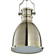 Classic Industrial Pendant (brass) - 60% OFF